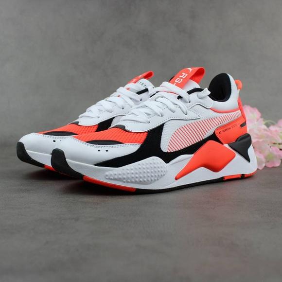 Puma Shoes   Puma Rsx Reinvention Red